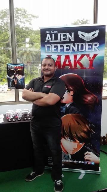 Alien defender maky
