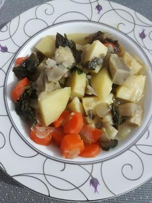Zeytin Yağlı Kereviz Yemeği