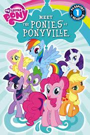 MLP Meet the Ponies of Ponyville Book Media