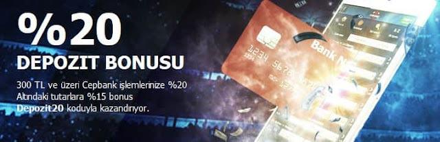 Odeonbet %20 Cepbank Bonusu