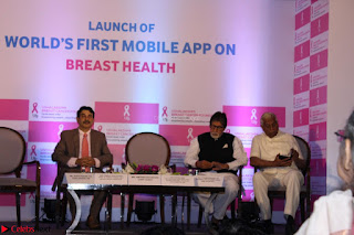 Amitabh Bachchan Launches Worlds 1st Mobile App Abc Of  Health 039.JPG