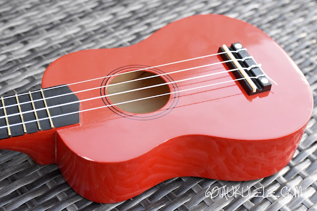 Martin Smith UK-212 Ukulele body