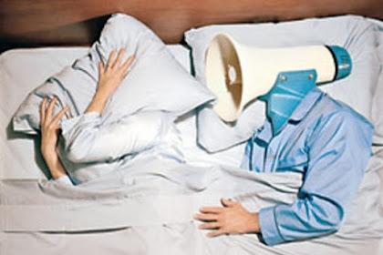 10 cara Menghilangkan ngorok pada saat tidur