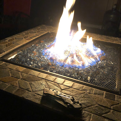 Our new fire table