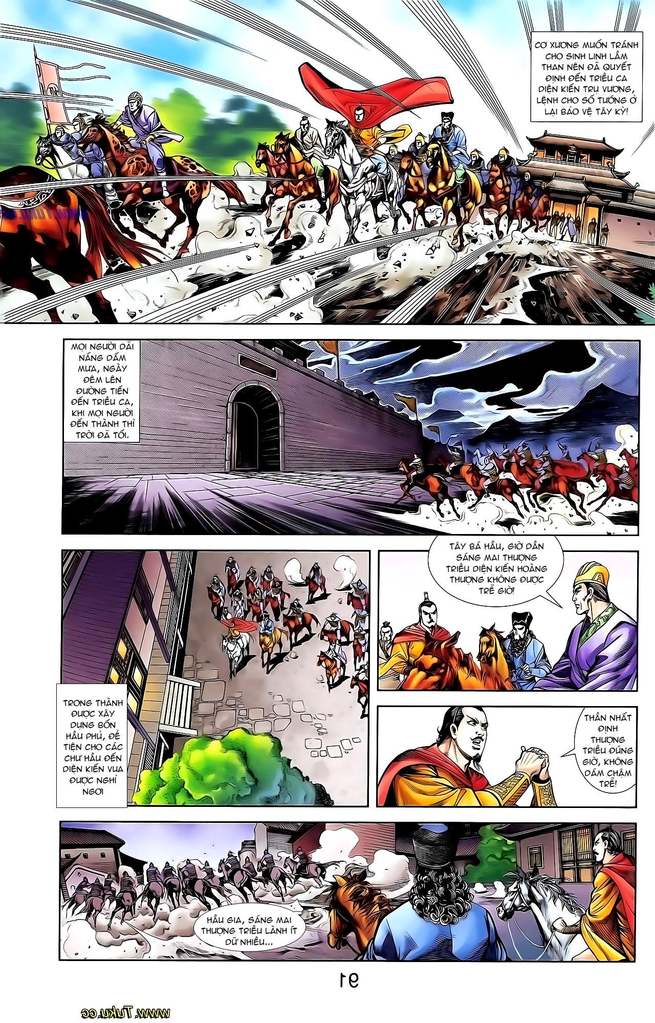 Cơ Phát Khai Chu Bản chapter 132 trang 6