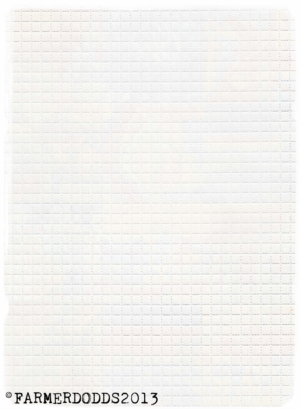 Perforated Blotter Paper