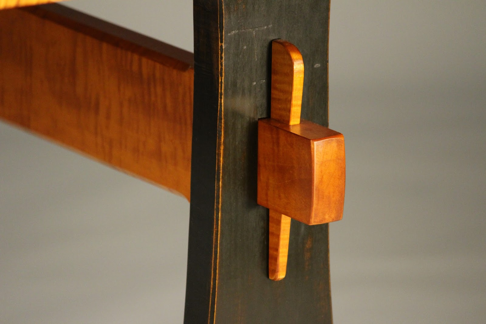 wedged mortise and tenon joinery