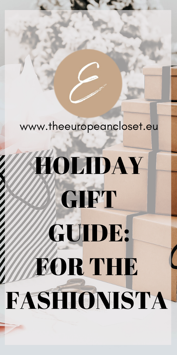 Today's gift guide is for all the fashionistas out there. We all have a friend or family member who breathes fashion, so I've gathered here a few gift ideas that I think will delight any girl who loves fashion.  #fashion #giftguide #christmas