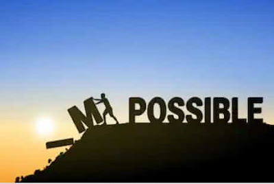 LOOK IMPOSSIBLE AS I'M'POSSIBLE