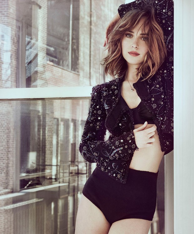 Dakota Johnson smoulders for Marie Claire March 2016
