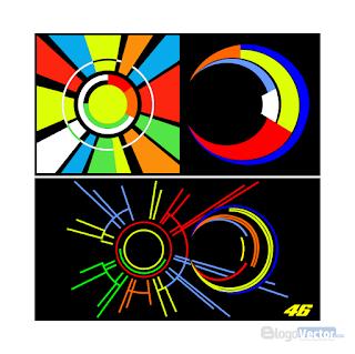 Valentino Rossi Sun & Moon Logo vector (.cdr)