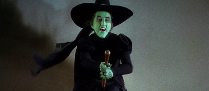 Margaret Hamilton in The Wizard of Oz