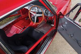 1965 Alfa Romeo Giulia Sprint GTA Cabin Interior