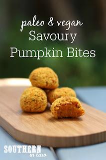 Savory Paleo Pumpkin Bites Recipe