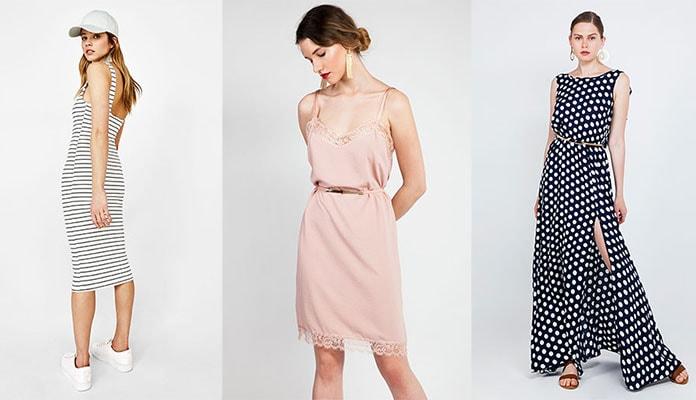 02cbf31fb5ed Μια από τις πιο εντυπωσιακές και άκρως θηλυκές επιλογές για το ντύσιμο της  εποχής είναι τα φορέματα για Άνοιξη – Καλοκαίρι. Πρόκειται για ένα ρούχο με  πολλά ...