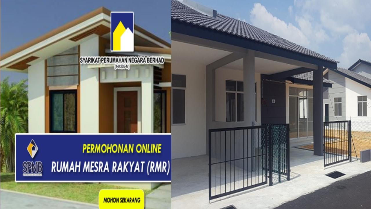 Permohonan Rumah Mesra Rakyat (RMR) 2021 Online Bagi Golongan B40