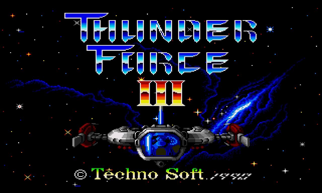 MEGADRIVE - Thunder Force 3