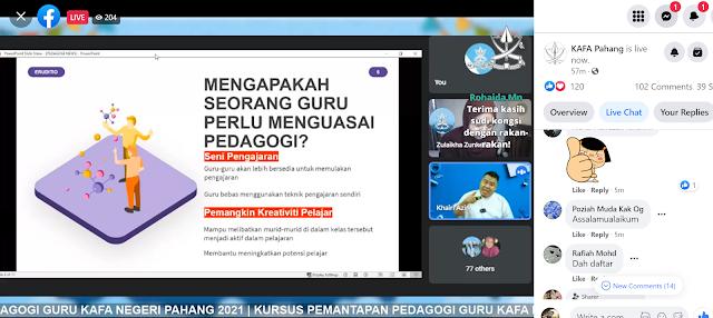 Kursus Pemantapan PEDAGOGI Guru KAFA Negeri Pahang 2021