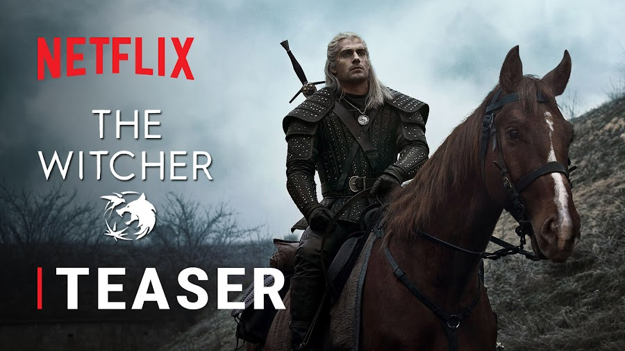 netflix witcher tv show teaser trailer sdcc 2019 henry cavill