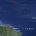 Dois tremores são registrados no Oceano Atlântico próximo à costa do Ceará