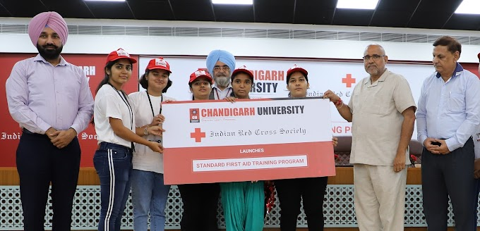 Chandigarh University joins hand with Indian Red Cross to offer First Aid Training Program