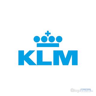 K.L.M. Royal Dutch Airlines Logo vector (.cdr)