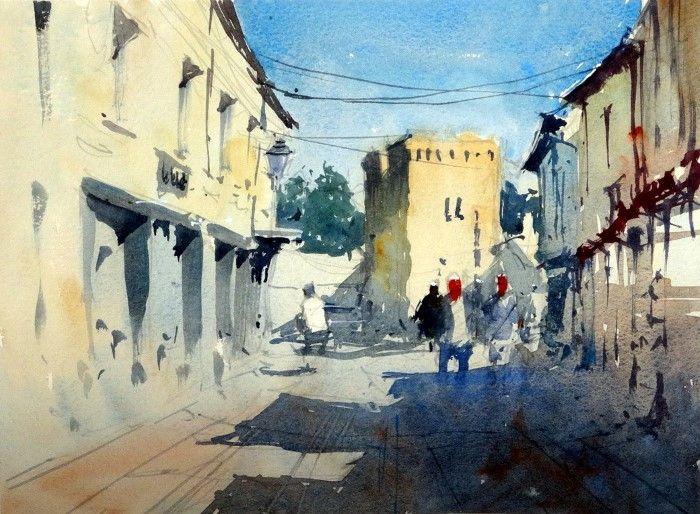 Британский художник. Tim Wilmot