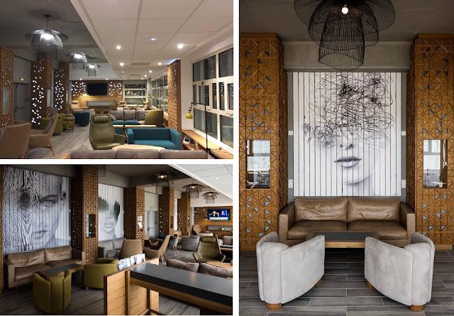essie Coleman VIP Lounge, Pointe-à-Pitre Le Raizet (Terminal 1) – Design : Mira Spadijer