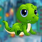 G4K Baby Crocodile Escape