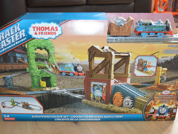 Review - Thomas & Friends Trackmaster Scrapyard Escape Set