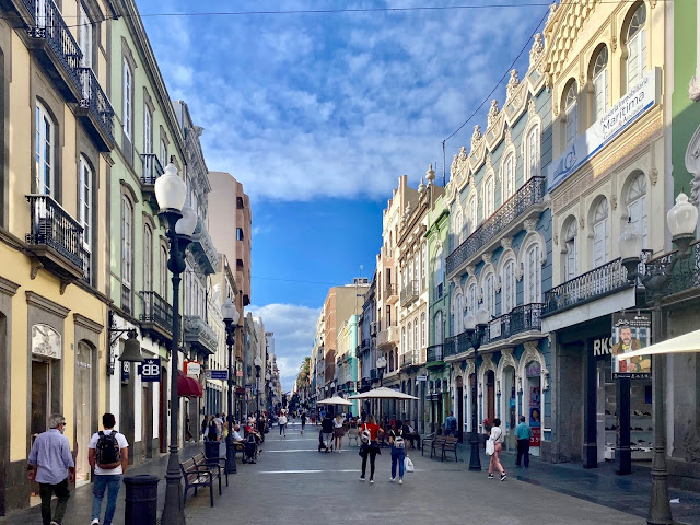 Triana shopping district, Las Palmas, Gran Canaria, Spain