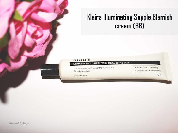 Klairs Supple Illuminating blemish Cream - Review