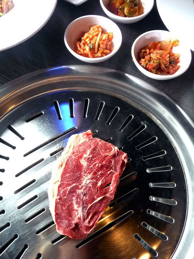 Gen Korean BBQ House SM by the Bay steak