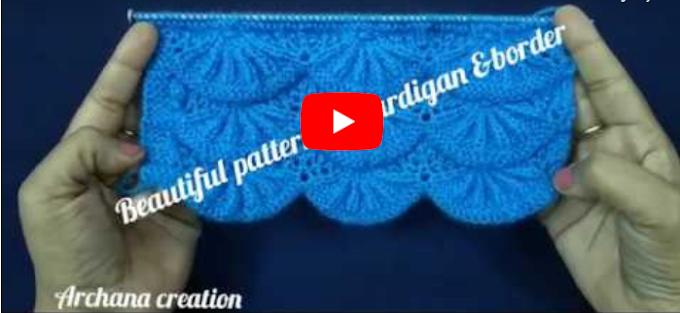 Stylish Border/Cardigan Design