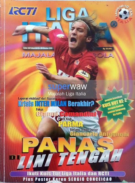 Majalah LIGA ITALIA (PANAS DI LINI TENGAH)
