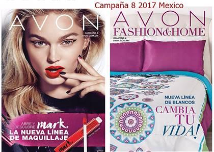avon catalogos campaña 8 2017 mexico