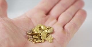 ¿Cómo y dónde encontrar oro en España? pepita de oro