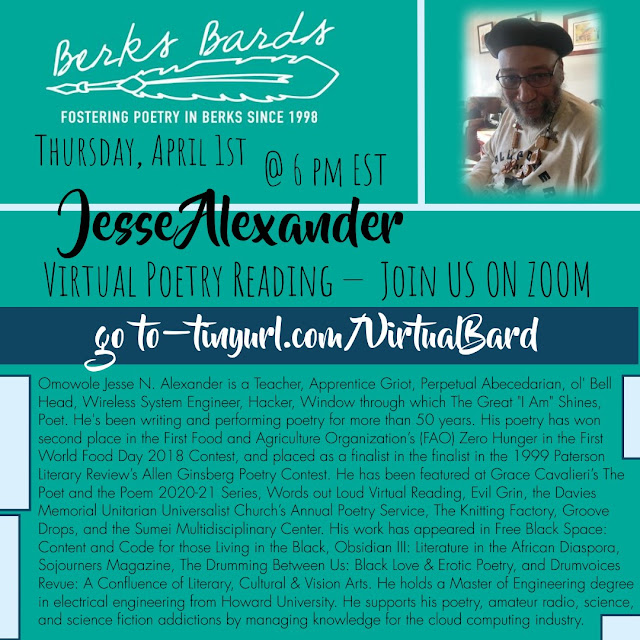 Poet Jesse Alexander