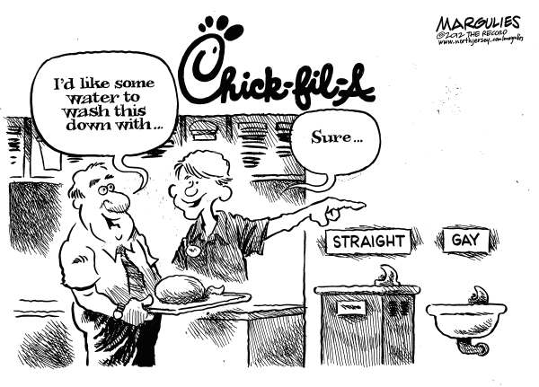 Chick-fil-A opens in West Hollywood? humor by Jimmy