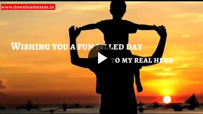 Birthday Wishes Video Status For Dad/Papa New Whatsapp Status Video Download