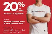 Promo 3Second Store Terbaru Periode 20 Maret - 5 April 2020