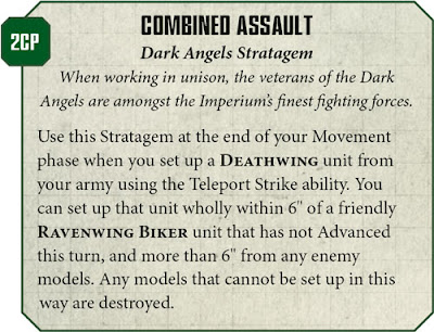Estratagemas Ravenwing Deathwing