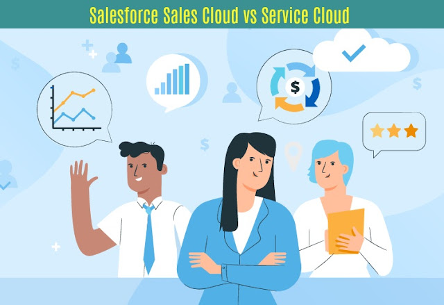 Salesforce Sales Cloud vs Service Cloud