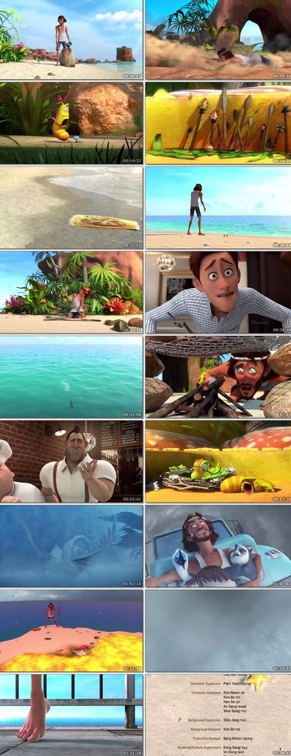The Larva Island Movie 2020 English