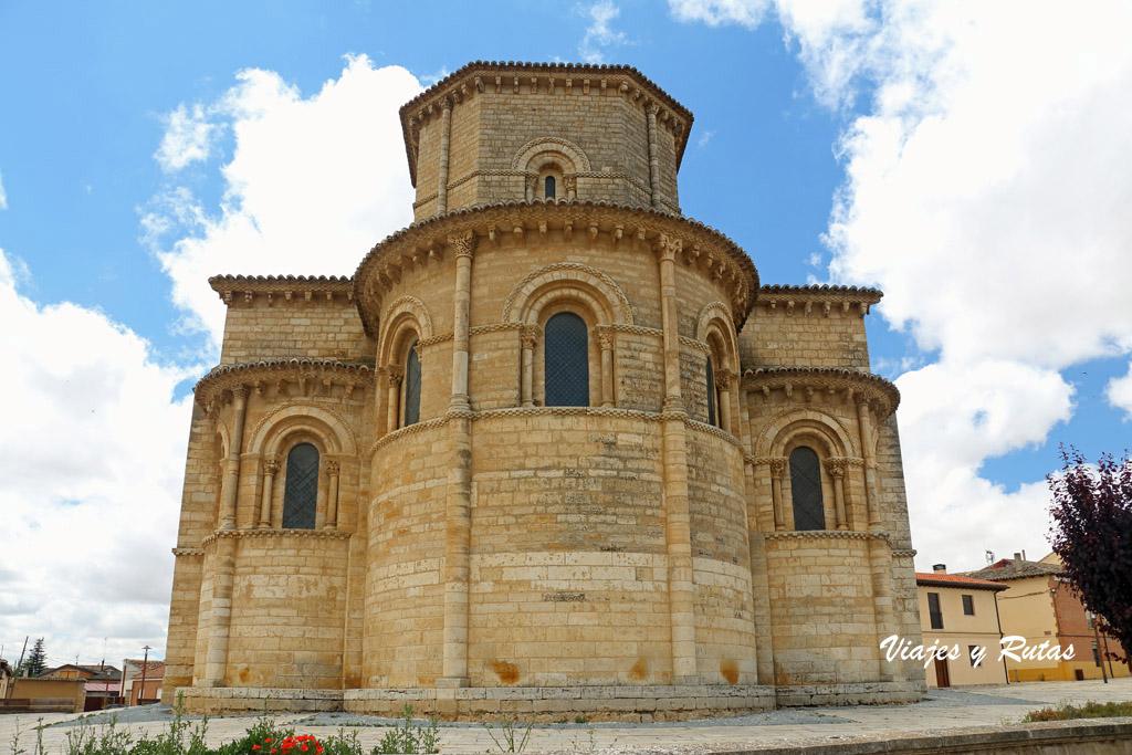Ábsides de la iglesia de San Martín de Frómista