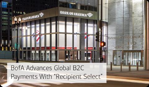 Bank of America – Recipient Select