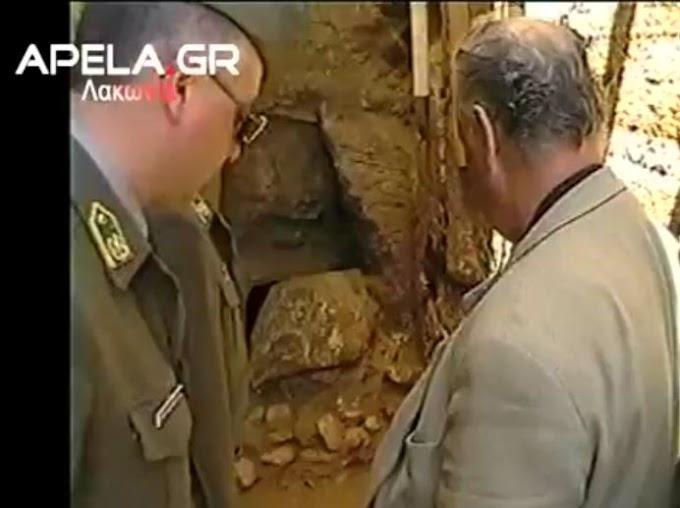 Ο χωμένος τάφος της Αρχαίας Πελλάνας