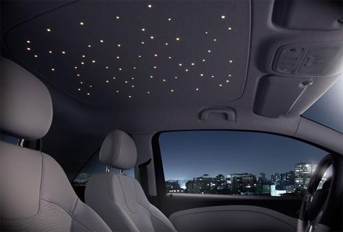 Độ đèn trần ô tô