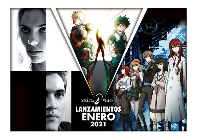 Lanzamientos SelectaVisión enero 2021.