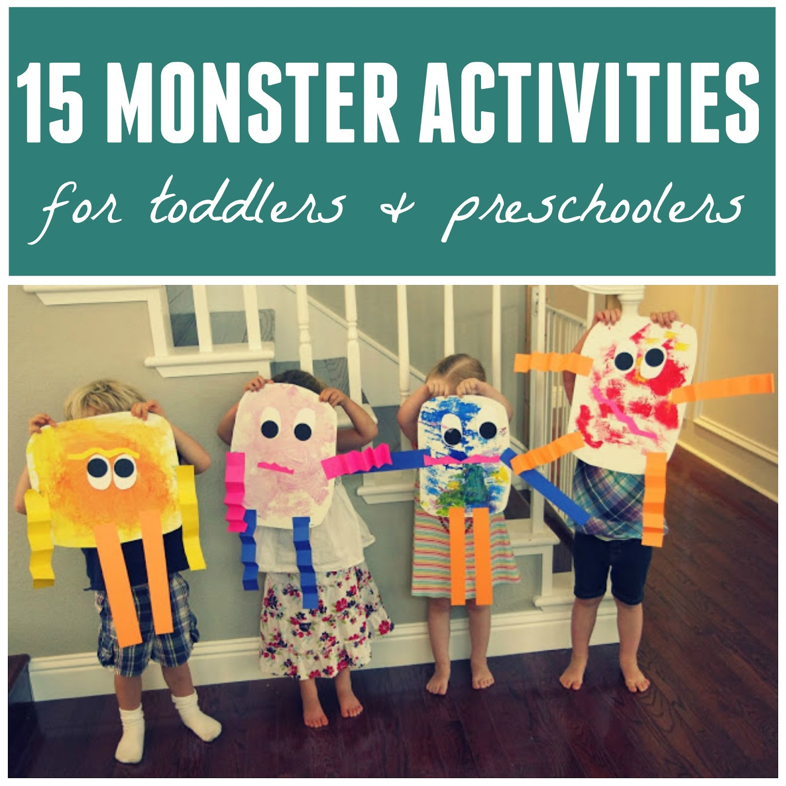Toddler Approved 15 Monster Activities For Toddlers And Preschoolers